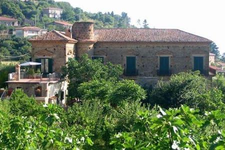 Vicino Acciaroli, in palazzo baronale fine '700 - Serramezzana
