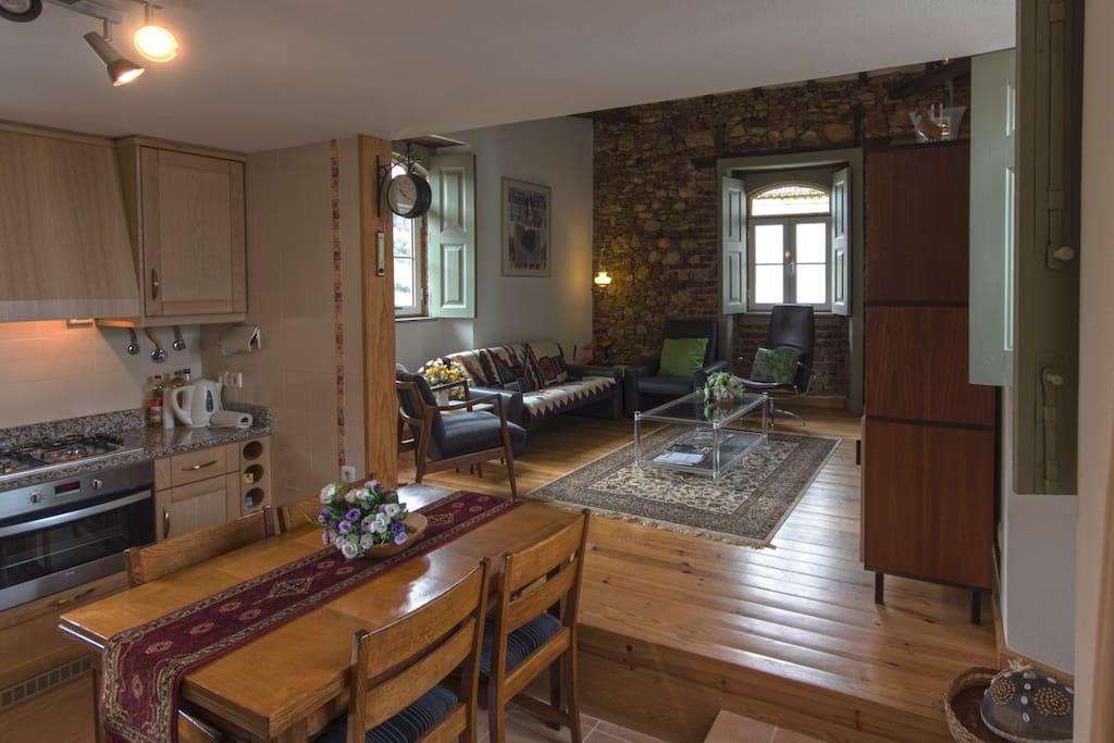 Keuken , woonkamer