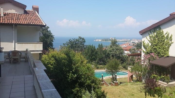 Villa with a sea view
