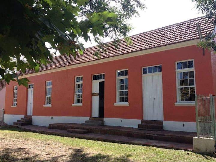 Casa de hospedagem próxima a Santa Cruz do Sul