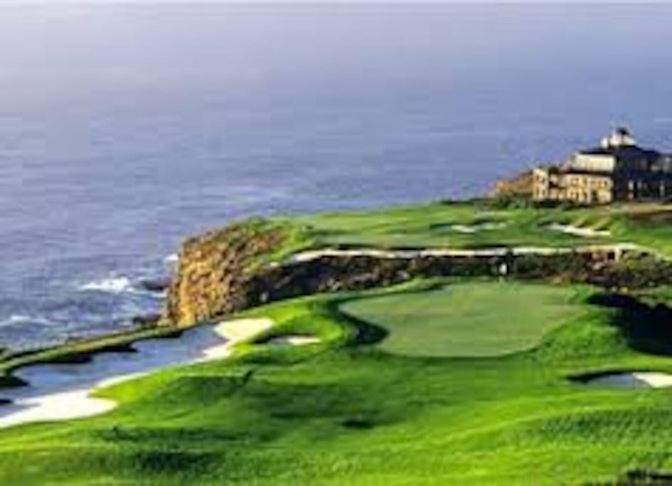 Spectacular golf course
