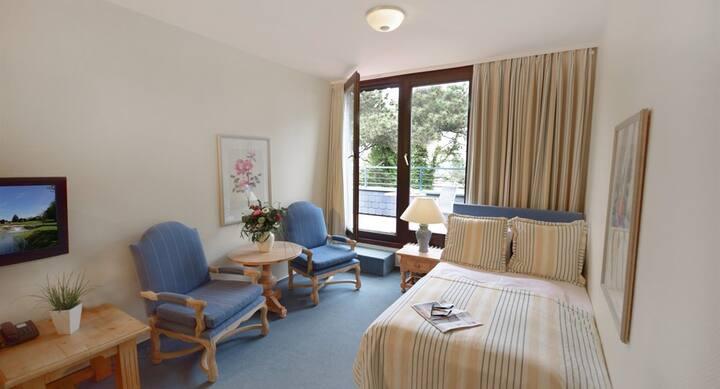 Einzelzimmer im Appartement-Hotel Seeschlösschen