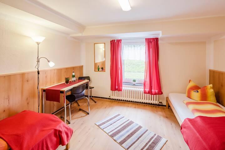 Dreibettzimmer, einfach - Gelsenkirchen - Huis