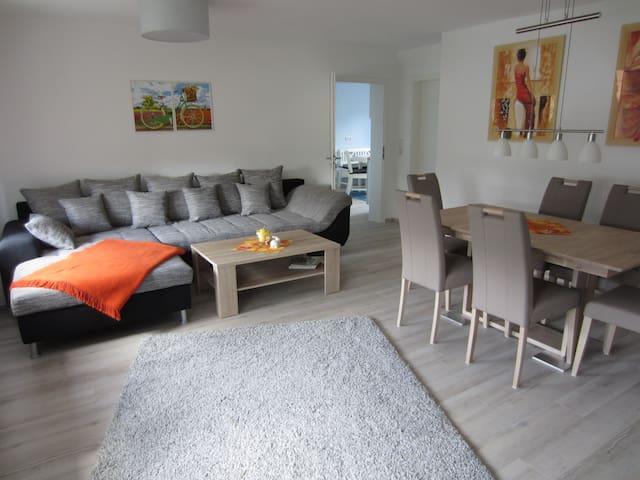 Fewo Bienwald 2, 105 m²/4-6 Per - Teuchern OT GRÖBITZ - Квартира