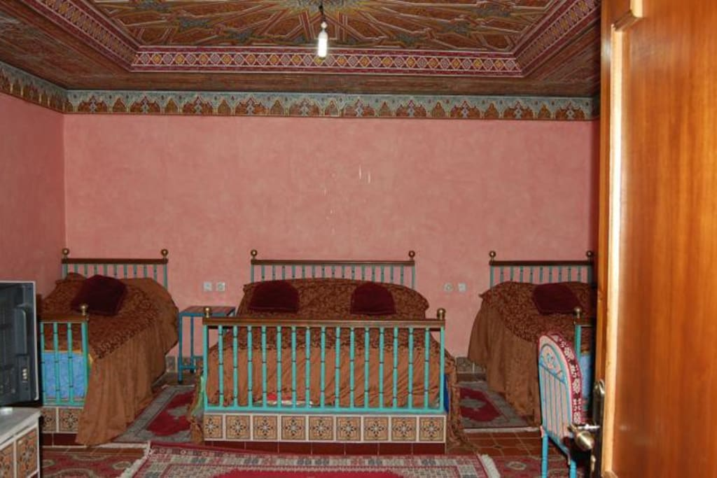 Your Cozy rooms with moroccan authentic archetecture