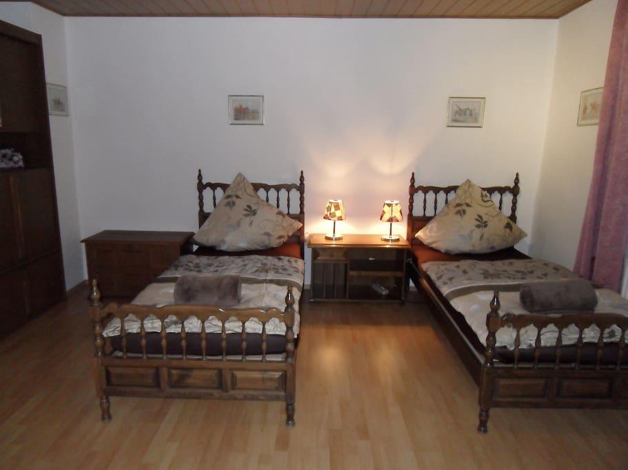 Zweibettzimmer 1B für 1-2 Personen