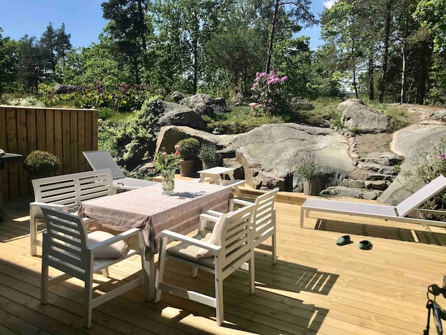 Charming townhouse in the heart of Lidingö
