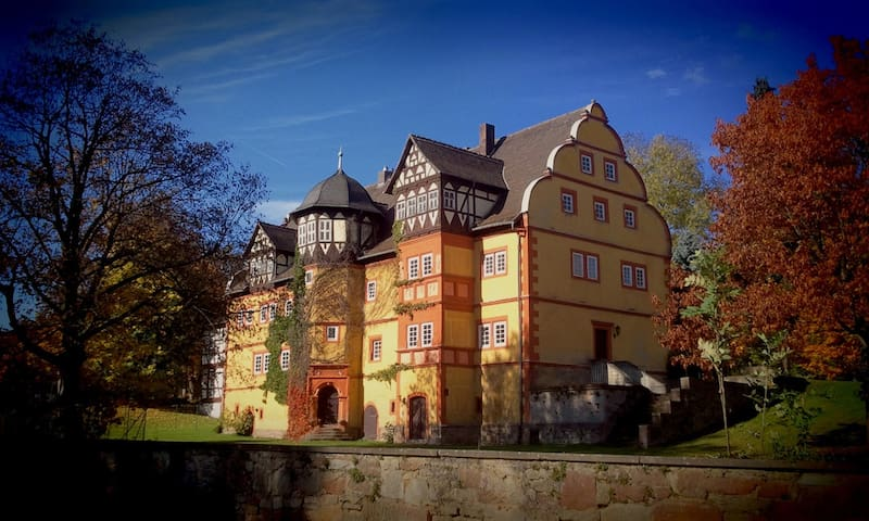 Small apartment in the castle - Hohenroda - Lägenhet