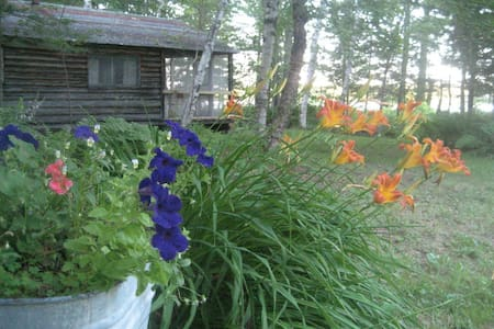 Lakefront Cabin Maine Woods (G.C.)