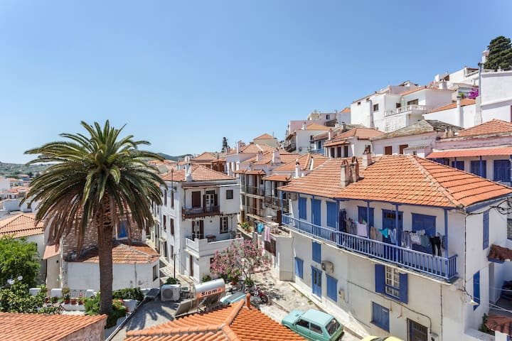 Traditional house in Skopelos for 4 - Skopelos - Maison