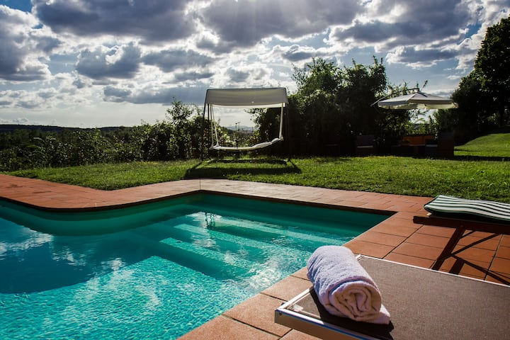 Stabbiconi - Villa immersed in tuscany hills siena