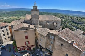 "Picture of La Bastide Bleue in Gordes ""Tuile"""