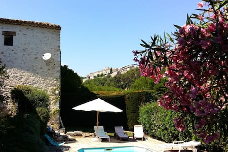 Poolside Studio in Saint Paul - Saint-Paul-de-Vence - Apartament