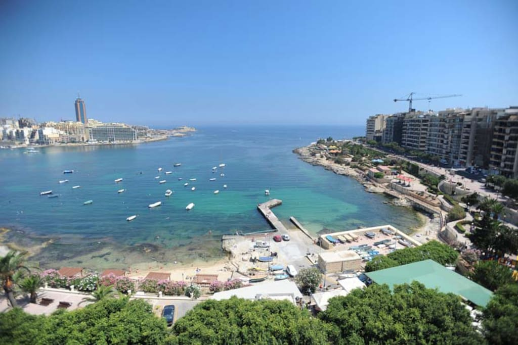Twin Room With Private Facilities Apartments For Rent In Tas Sliema Malta