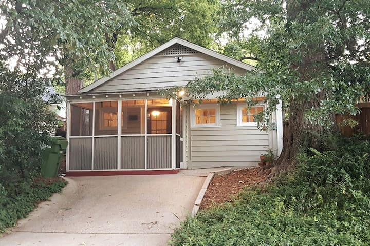 Candler Park/Lake Claire Cottage