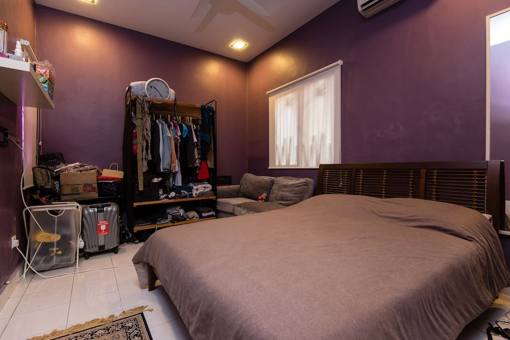 Puchong Master Bedroom With Private Jacuzzi Houses For