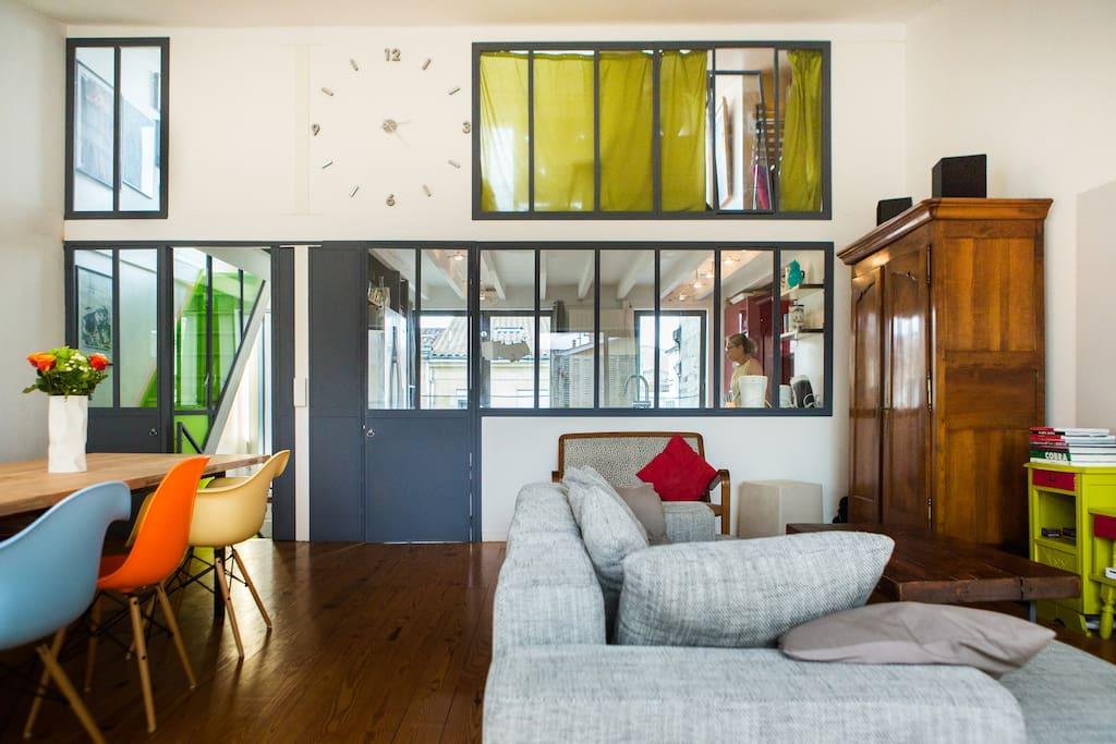 Maison d 39 architecte centre ville townhouses for rent in bordeaux aquitaine france - Maison architecte mark dziewulski ...
