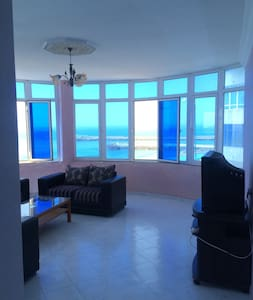 Beautiful apartment with uninterrupted sea views! - Ghaba el Araich
