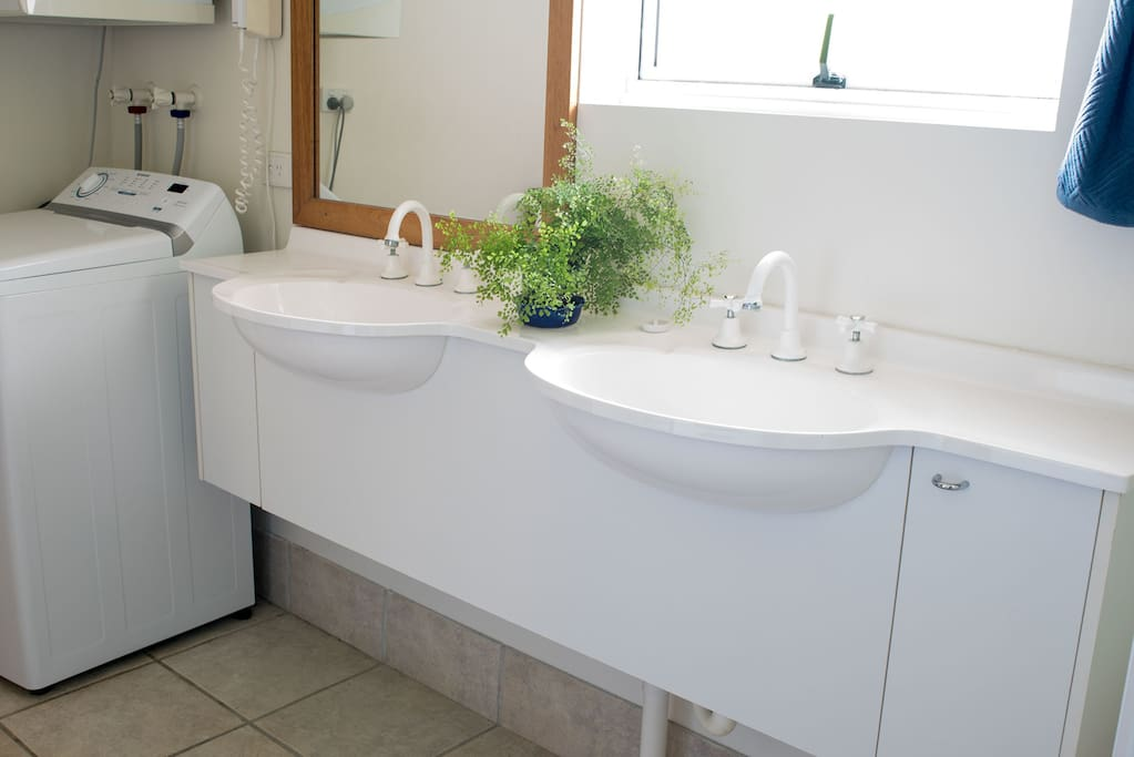 Bathroom with Washer & Dryer