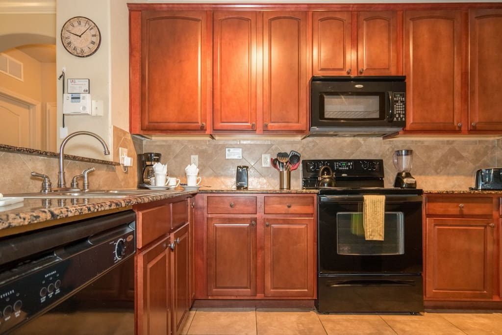 Perfect kitchen for all meal preparations