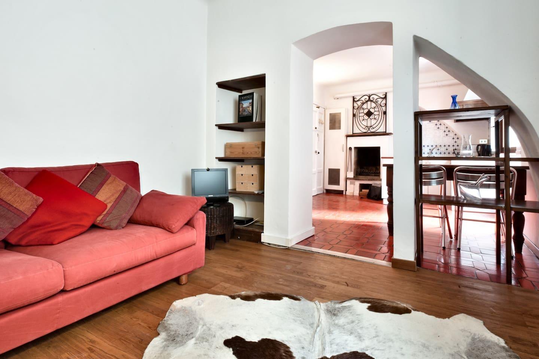 Milan Navigli 1 bedroom flat quaint