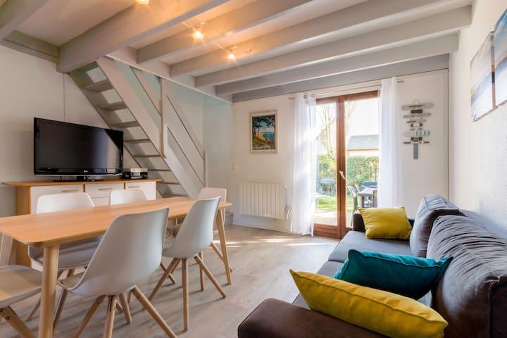 Charmante maison de vacances, piscine, plages - Guérande - Rumah