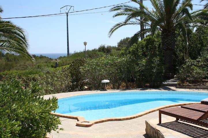 Villa mit Pool und Meerblick - Manacor - Villa