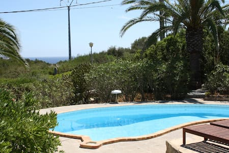 Villa mit Pool und Meerblick - Manacor - Vila