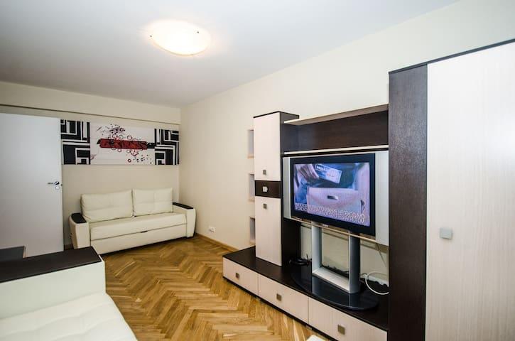 29а 2х комн квартира м Белорусская - Moskva - Apartament