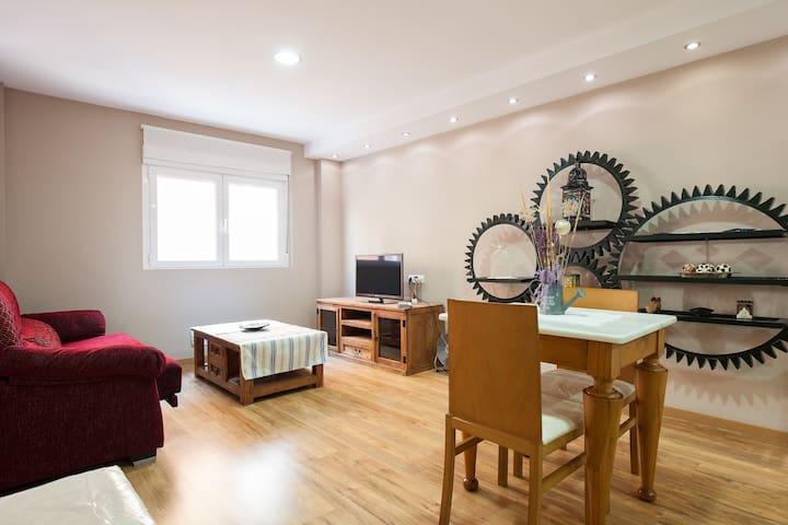 Apartamento céntrico tranquilo Wifi-TV internac. - Almería - Apartment