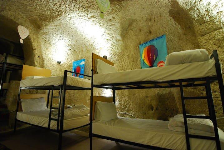 Millennia-old Cave Dorm 3 @Göreme - Göreme