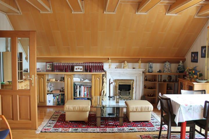 Schöne sehr helle Wohnung im Grünen