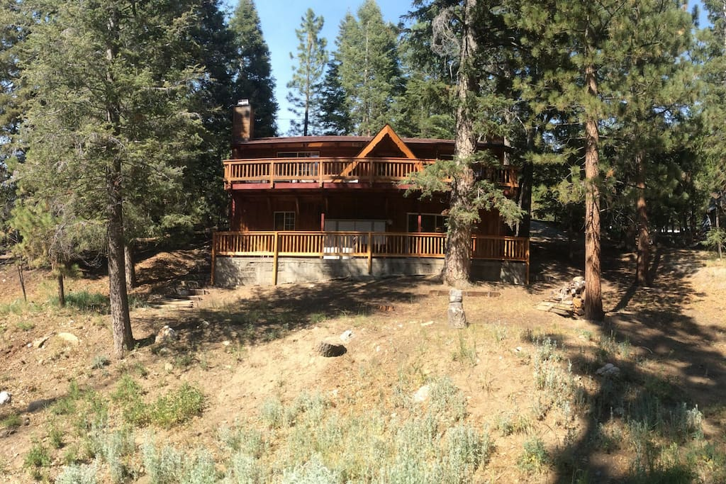 Clean spacious quiet great cabin cabins for rent in for Cabins for rent in big bear lake ca