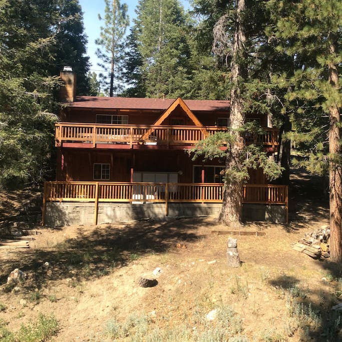 Clean spacious quiet great cabin cabins for rent in for Cabins big bear lake ca