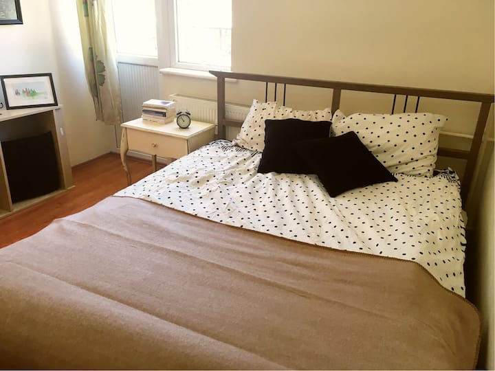 quiet, serene atmosphere and stylish room