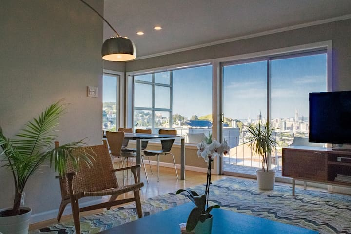 Modern Room near Castro with Views