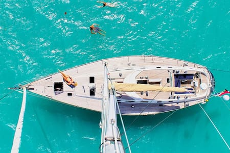 Swan 53ft Skye- Cabine at anchor. Ultimate freedom - Eivissa