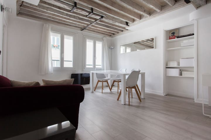 Charming Parisian Flat in Le Marais - Paris - Leilighet