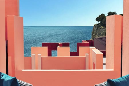Wonderful apartment in Muralla Roja with ocean view - 0217