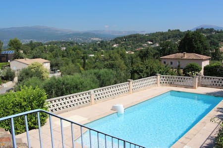 If you are looking for calm and nice view - Mouans-Sartoux - Appartement