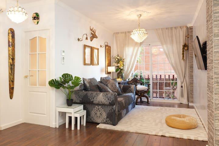 Confort Home en Rambla Poblenou &Mar Bella Beach
