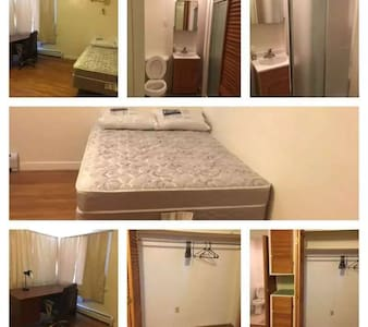 Northeast  Master Bedroom for graduation weekend - Ithaca