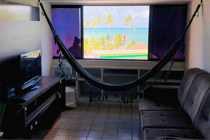 Apartamento de FRENTE PRO MAR em Maceió na ORLA