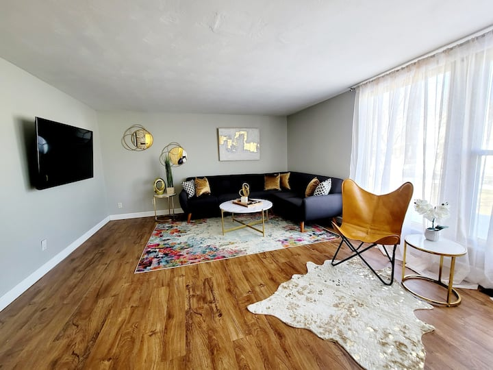 3BR 2BA Ranch 1.3 miles to Purdue's Mackey Arena!