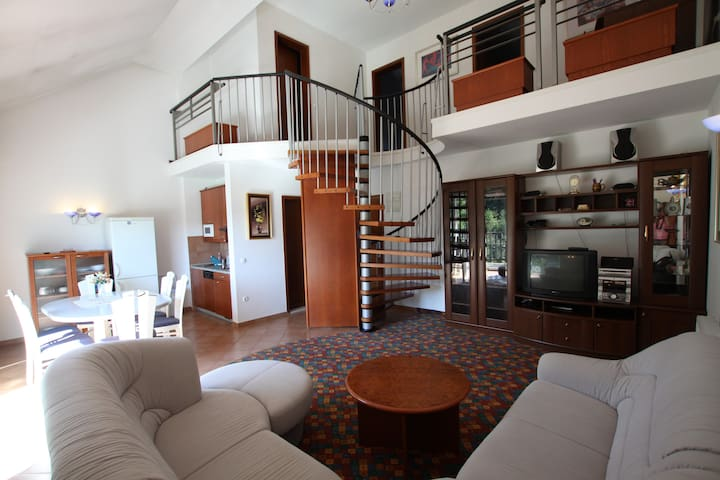 Spacious duplex apartment in Olimje - Podčetrtek - Apartemen