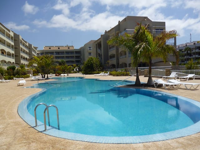Amazing sea views sunsets,2 bedrooms and free wifi - Palm-Mar - Appartement