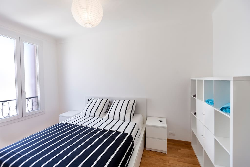 The bedroom with a 160cmx200cm