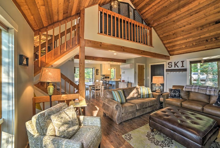 Updated Wintergreen Resort Home w/ Mountain Views!
