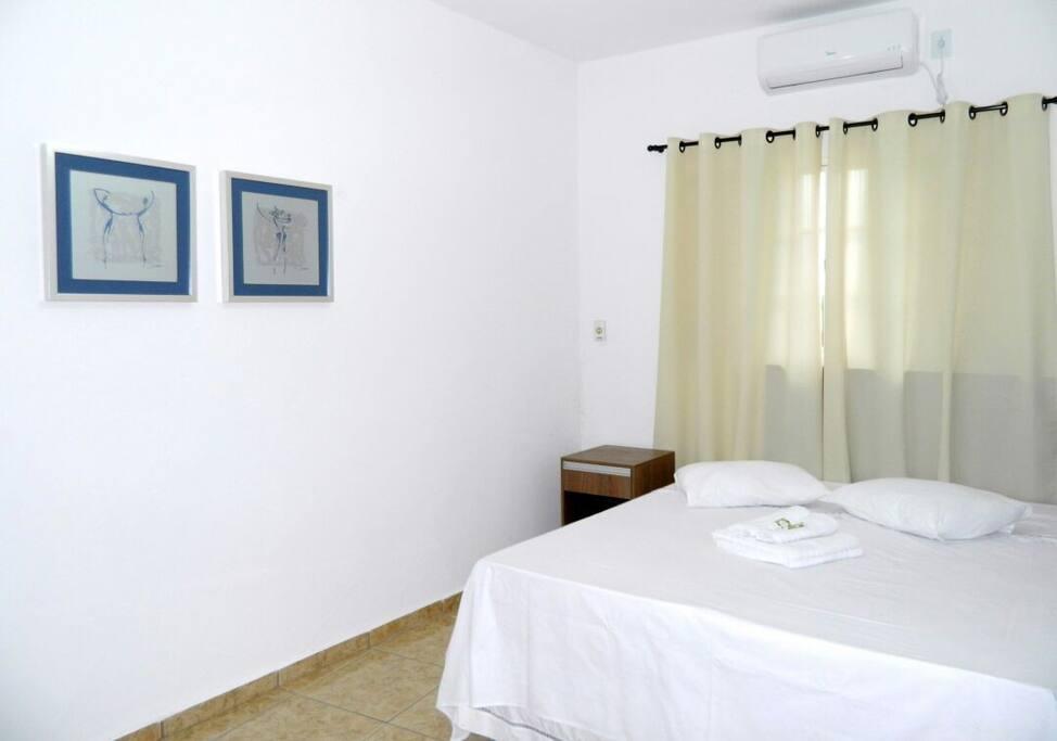 Dormitórios confortáveis