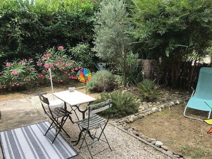 Studio avec jardin quartier Rangueil